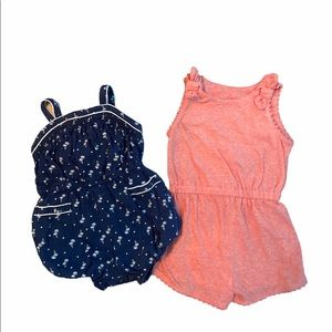 12-18 Month Baby Girls Summer Rompers/Jumpsuits